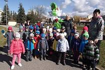 Děti z jičínské MŠ Máj se rozloučily ze zimou.
