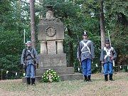 Připomínka bitvy u Jičína na Prachově.