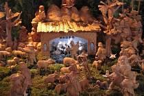 Až do začátku ledna je v kostele sv. Ignáce přístupná výstava betlémů.
