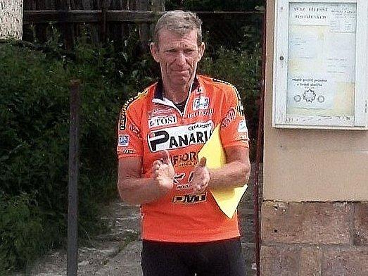 Cyklista Rudolf Boček.