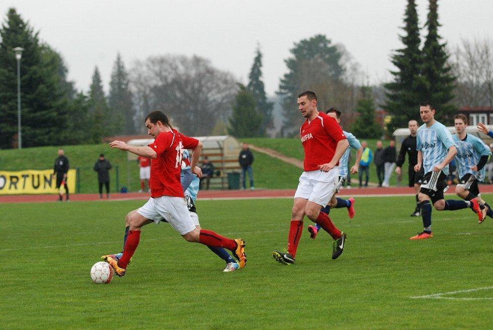 Utkání SK Jičín – Sokol Provodov.
