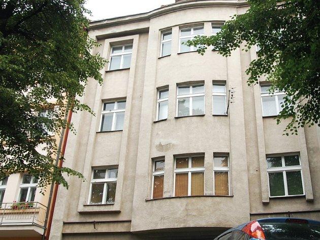 Dům hokejisty Otakara Janeckého v pardubické Jungmannově ulici.