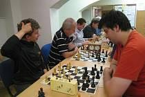 Z turnajů jičínských šachistů.