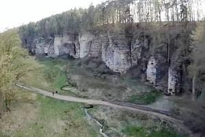 Údolí Plakánek.