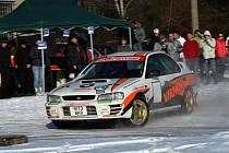 Rally show, ilustrační snímek.