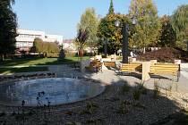 Park ve Valdicích po rekonstrukci.