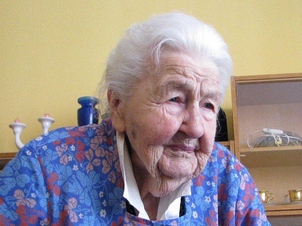 Marie Fišerová.