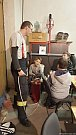 Třetí schůzka mladých kopidlenských hasičů.