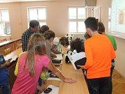 Z mezinárodního projektu Edison v bělohradské základní škole.