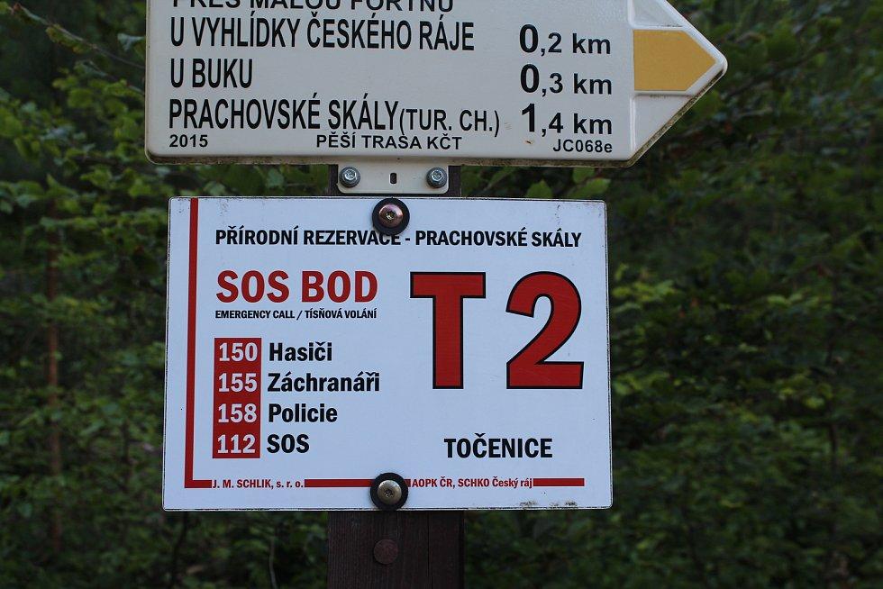 Prachovské skály v Českém ráji.