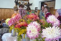 Výstava květin v Přepeřích.