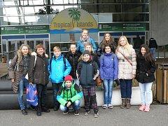 Kopidlenští školáci v Berlíně.