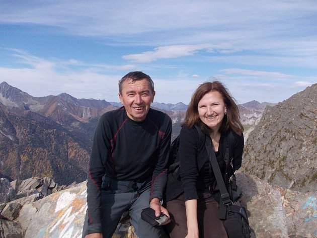 Z cesty Ivana Pírka k jezeru Bajkal.