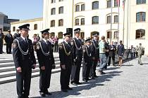 Vyznamenání hasičů.