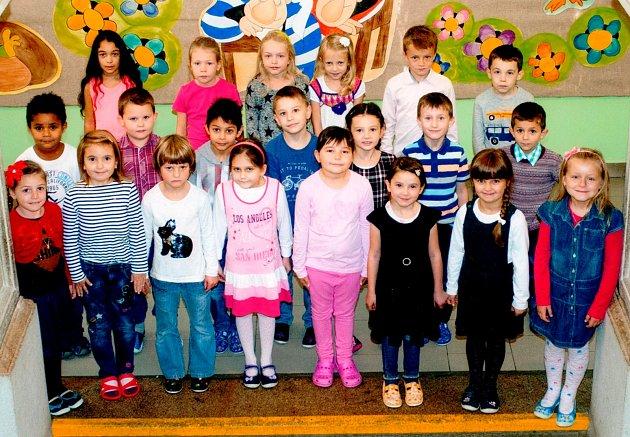 Žáci 1.Aze Základní školy 17.listopadu vJičíně
