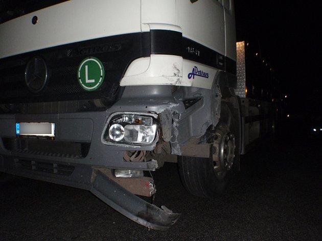 Dopravní nehoda uVrchoviny.