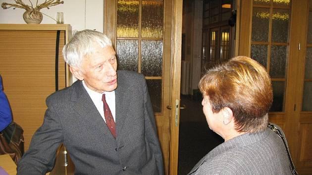 Vladimír Úlehla, člen sdružení Paměť a svědomí.