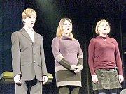 Klarinetový kvartet hořické základní umělecké školy.