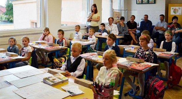 Žáci 1.třídy ze ZŠ Dobrá Voda  uHořic