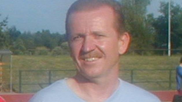 Trenér Jaroslav Matějka.