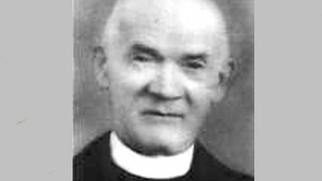 Josef Štemberka, lidický farář.