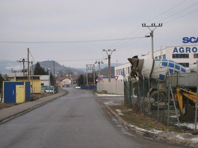Z jičínské průmyslové zóny.