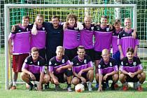 Tým Pornlandia potřetí v řadě ovládl turnaj v malé kopané v Lukavci.