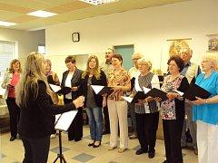 Setkání s hudbou v sobotecké Baráčnické rychtě.