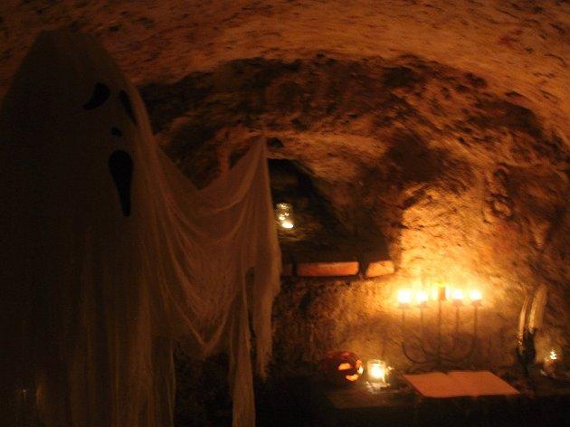 Zámecký halloween v Hořicích.
