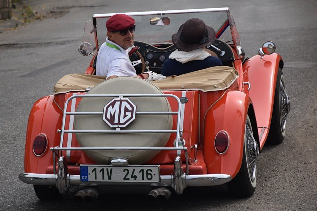 Oldtimer Bohemia Rally v Radimi.