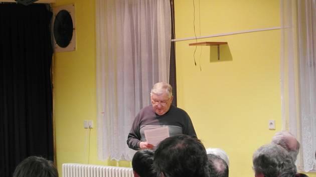 Vzpomínání s kronikářem Zdeňkem Burkertem.