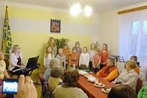 Oslava svátku žen Chomuticích.