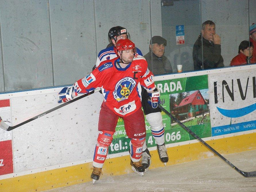 Utkání HC Jičín – SK Třebechovice pod Orebem.