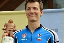 Triatlonista Petr Soukup.