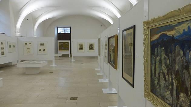 Výstava v jičínském zámku.
