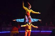 Hostování cirkusu Jo-Joo v Jičíně.