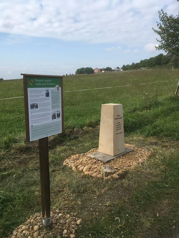 Nový pomník bude odhalen pod Zebínem v neděli 19. září