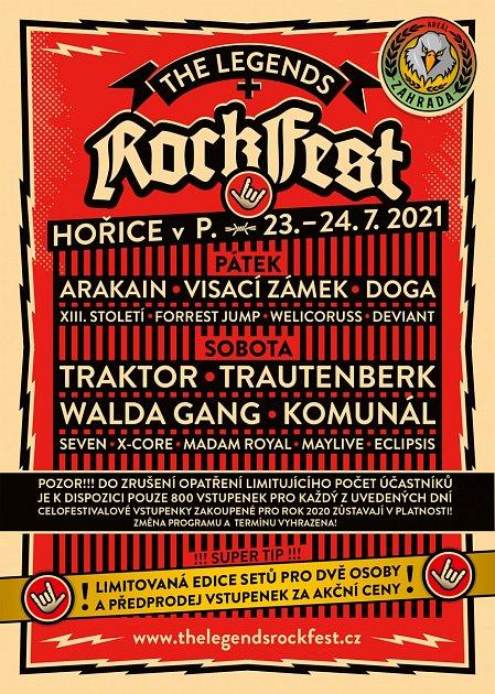 The Legends Rock Fest vHořicích 23.-24.července bude!