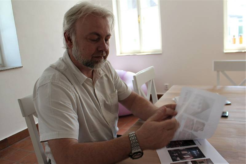 Synovec Milana Malíka vypracoval historickou studii o domě čp. 117.