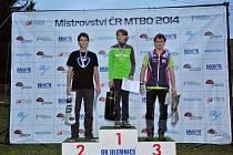 ZDENĚK ZIKMUND obsadil v kategorii dorostenců na mistrovství České republiky v orientačním závodě na kolech třetí místo.