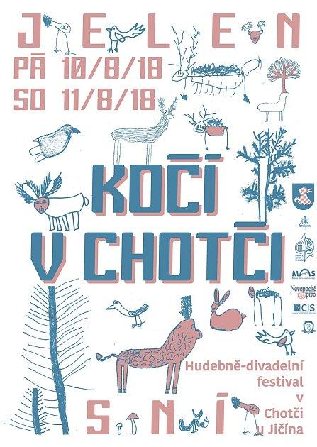 Plakát - pozvánka do Chotče.