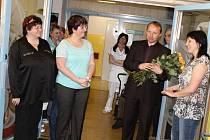 Hořické seniory navštívil Miroslav Poche.