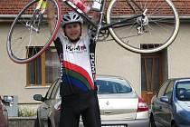 Úspěšný cyklista Daniel Polman.