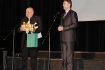 Jan Bílek,oceněný Osobností města za rok 2015.