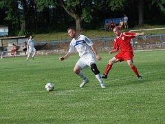 Utkání SK Sobotka - FC Nový Hradec Králové.