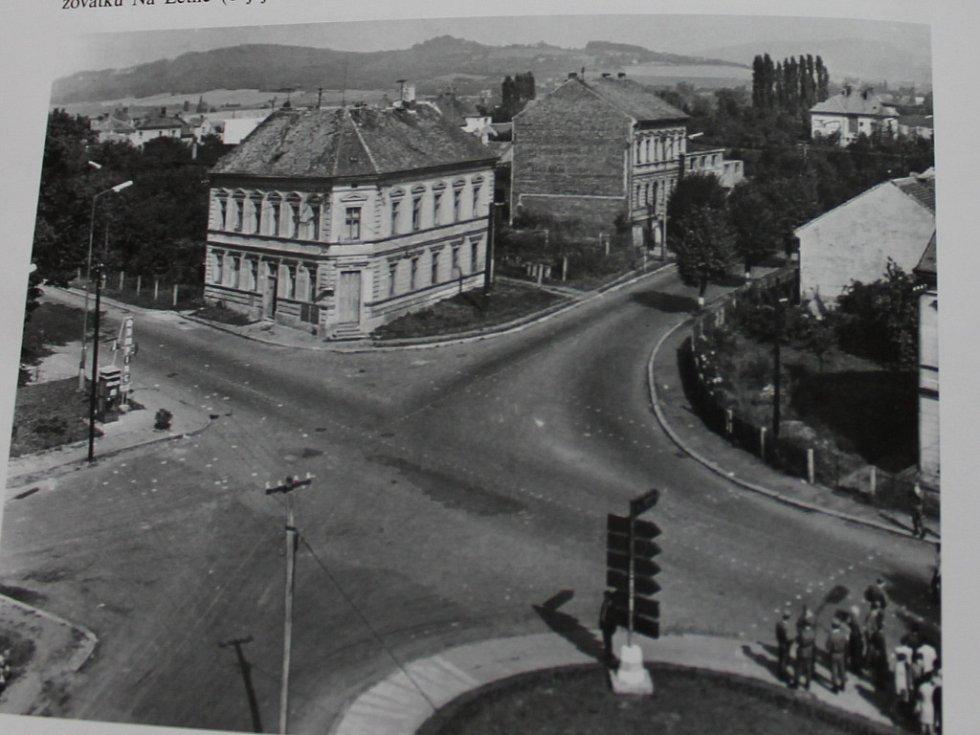 Jičín, Letná roku 1968.