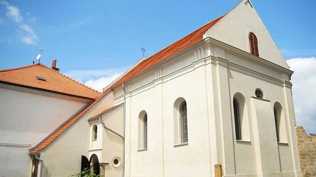 Jičínská synagoga.