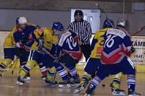 Lomničtí hokejisté byli novopackým rovnocenným soupeřem.