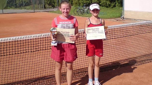 Kristýna Stránská (vlevo)