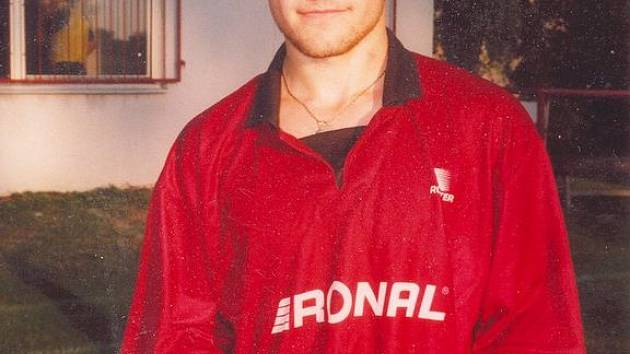 Fotbalista Zdeněk Fejfar.